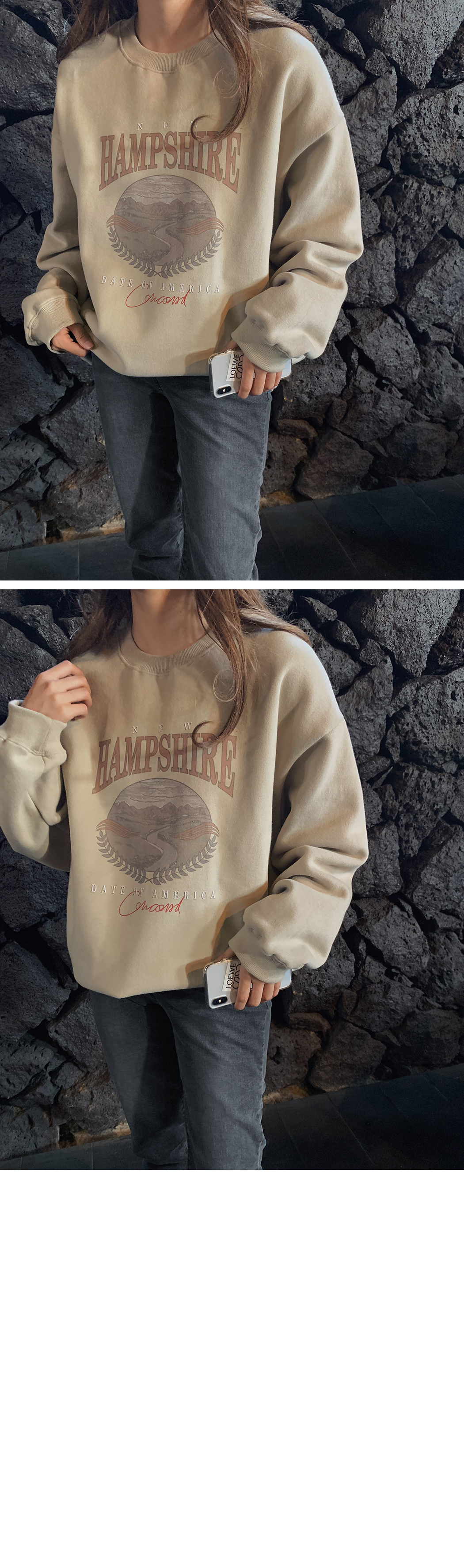'HAMPSHIRE' Park Si-Pit sweat shirt