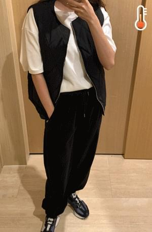 《Planned Product》 Corduroy Banding Jogger Pants