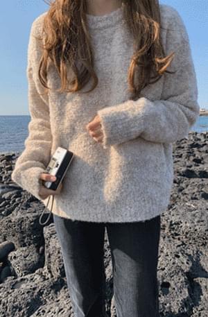 Jeju Color Booklet Wool Knit