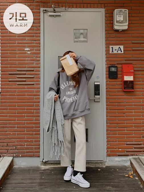 Offon Yang Raised Overfit Sweatshirt