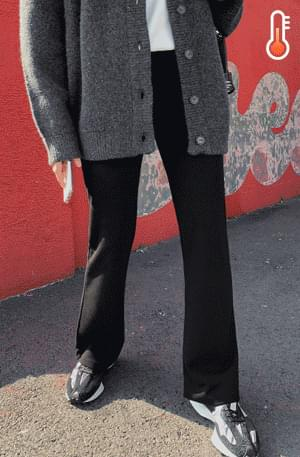 《Planned Product》 Winter Bootcut Banding Legging Pants