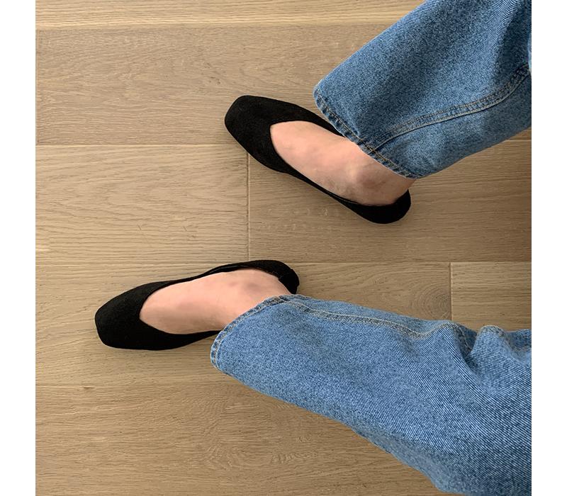 Bijuu suede Fleece-lined flat shoes