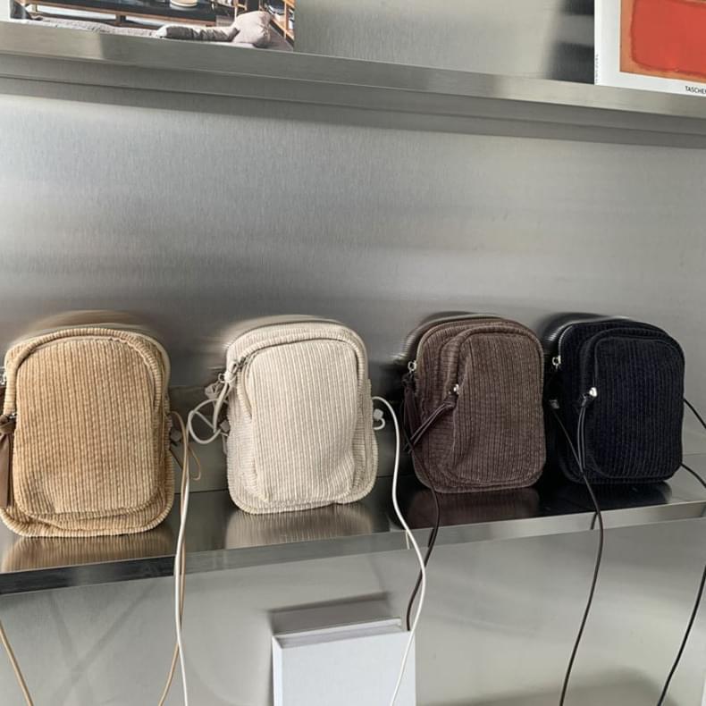 Garlen Corduroy Mini Cross Bag
