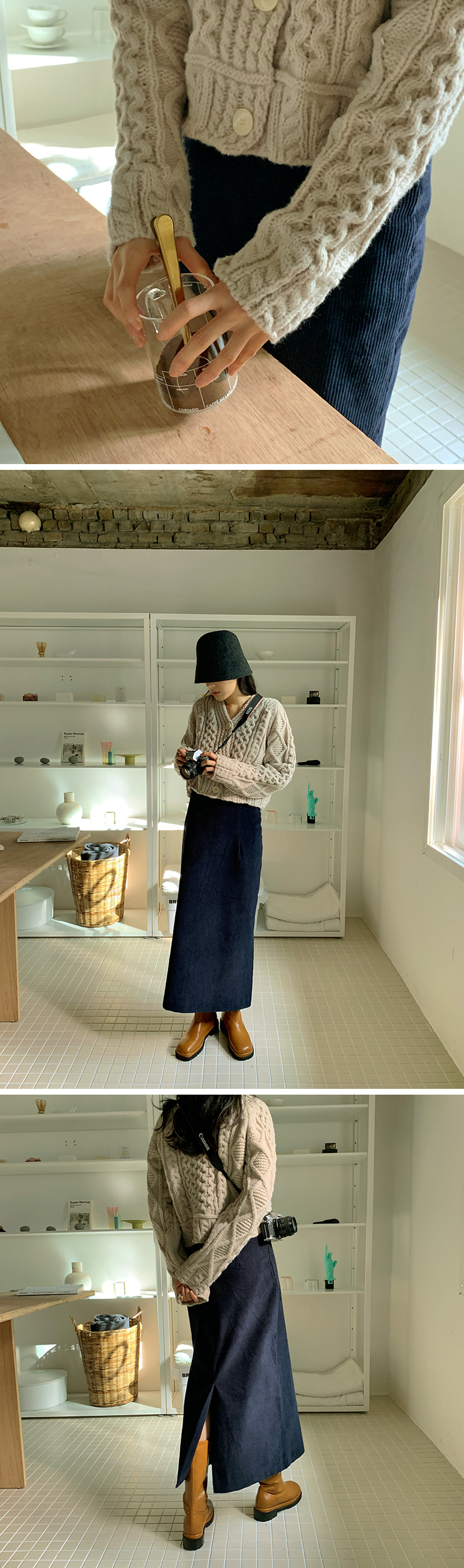 Monet Wool Bucket Hat
