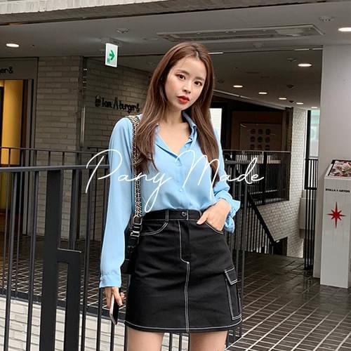 Photos washable blouse