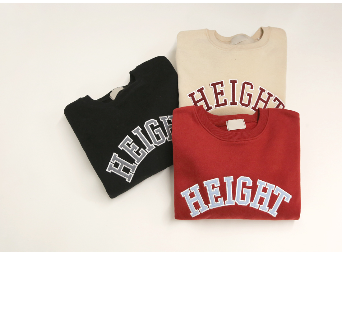 HEIGHT LETTERING NAPPING MTM