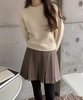 韓國空運 - Sobel wool cropped knit 針織衫
