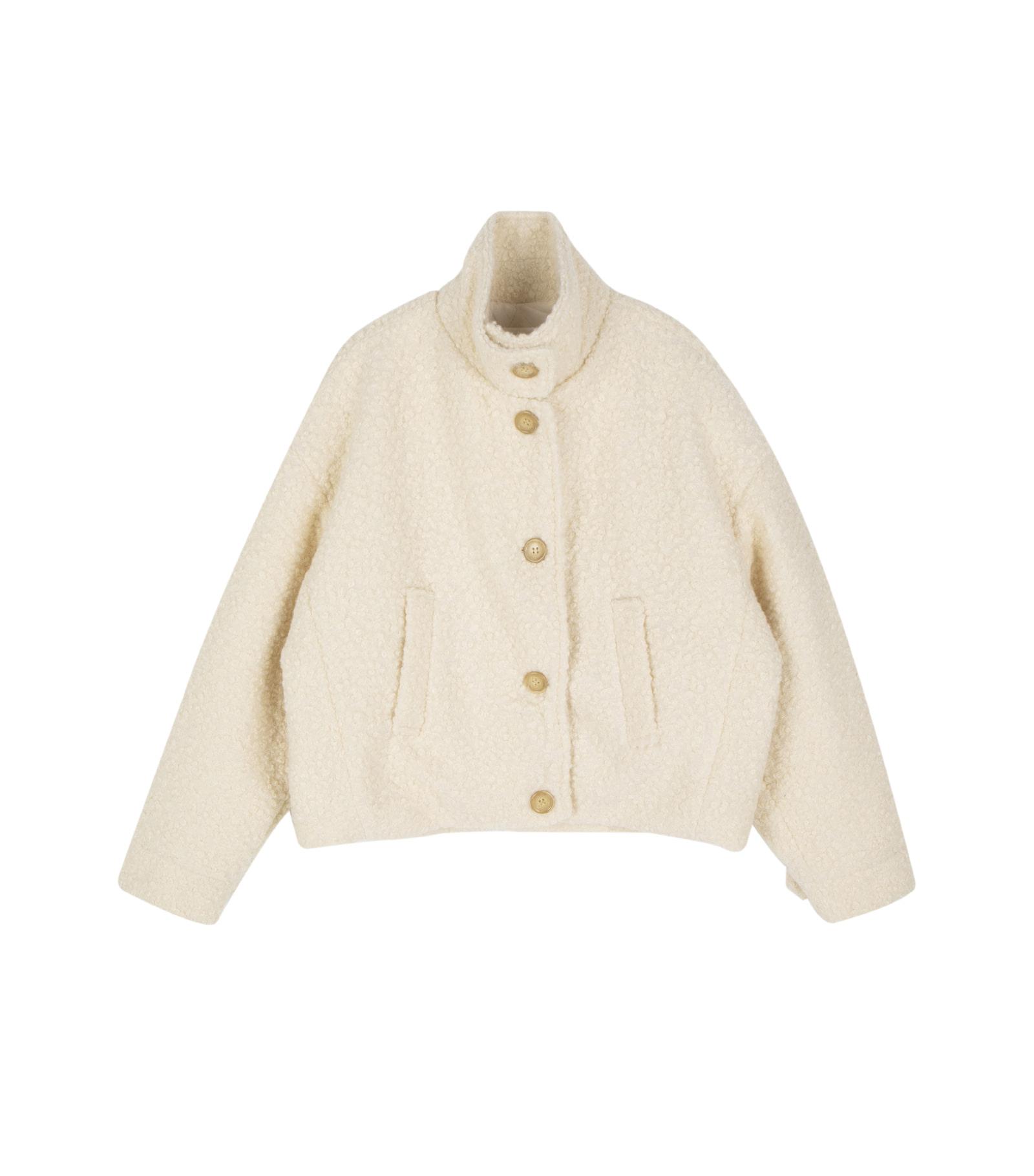 Beautiful milk short coat