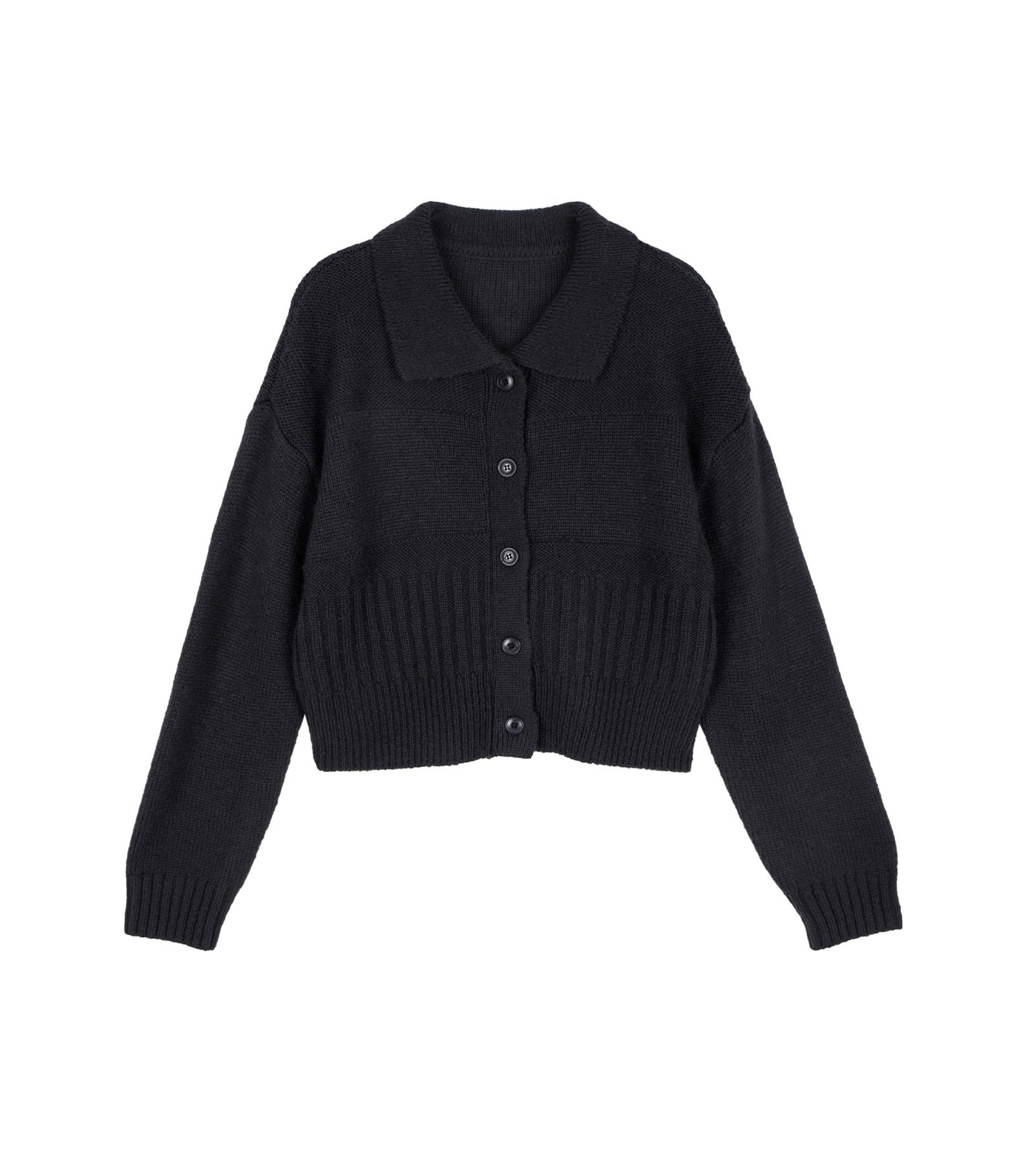 Beefit collar knit cardigan