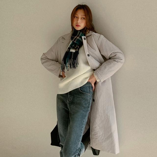 Calling strap padded coat