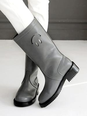Freky Smile Punching Long Boots 4cm