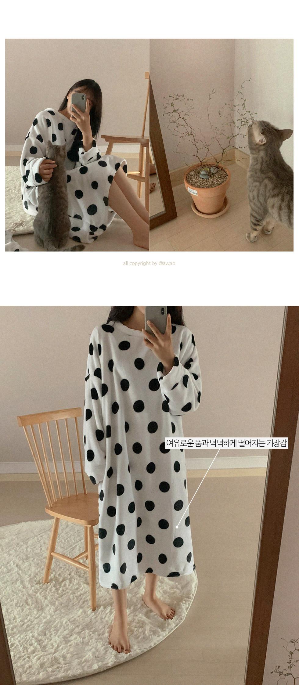 #homewear:_dot one piece sleep pajamas