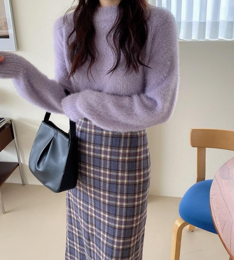 Week Formal Round Knit ニット