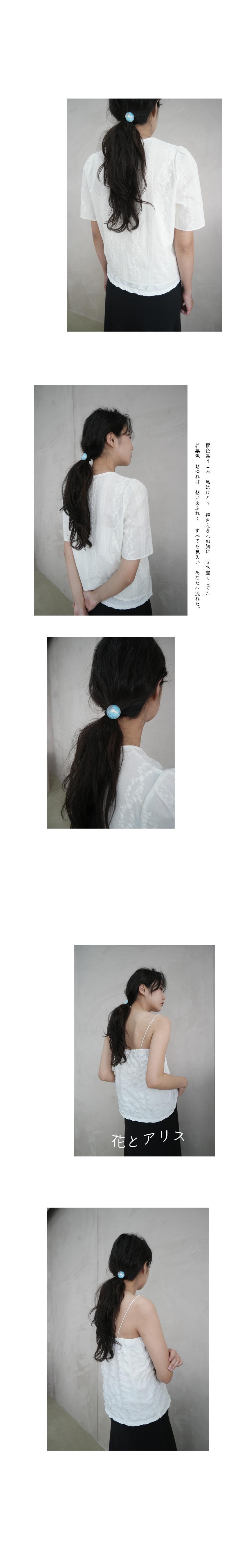 clear circle objet hairband