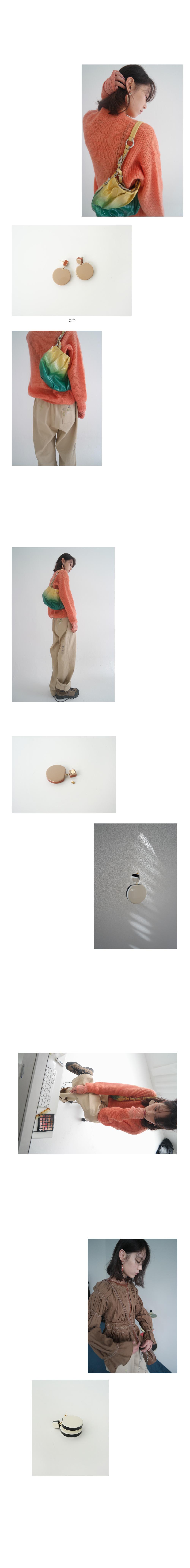 big object earrings (2colors)