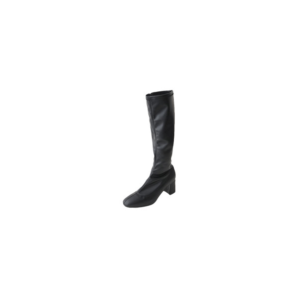 slim fit middle boots