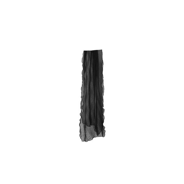 long pleats muffler