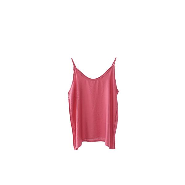 side taping glossy sleeveless