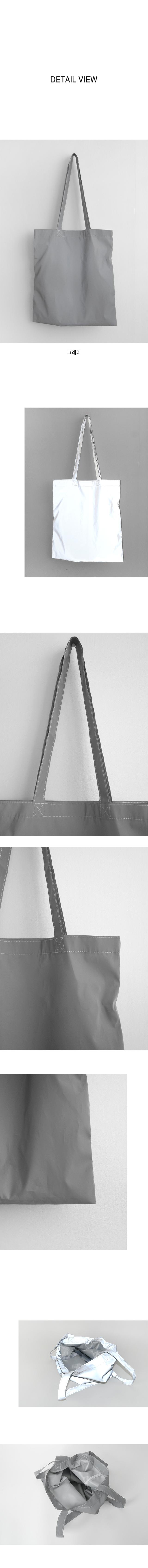 luster grey bag