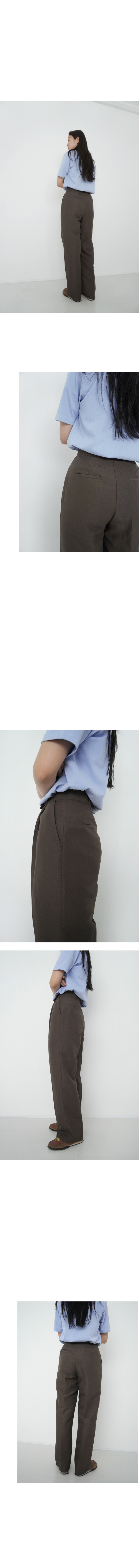 clean standard fit slacks