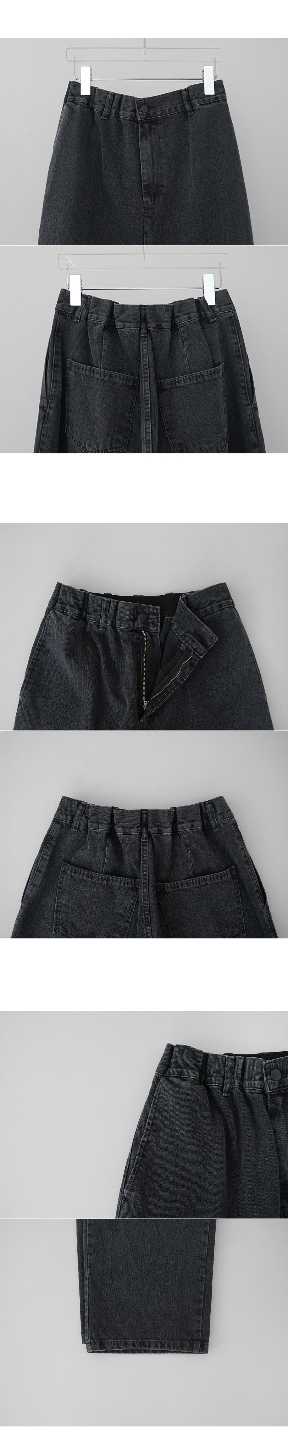 wide maxi banding jean