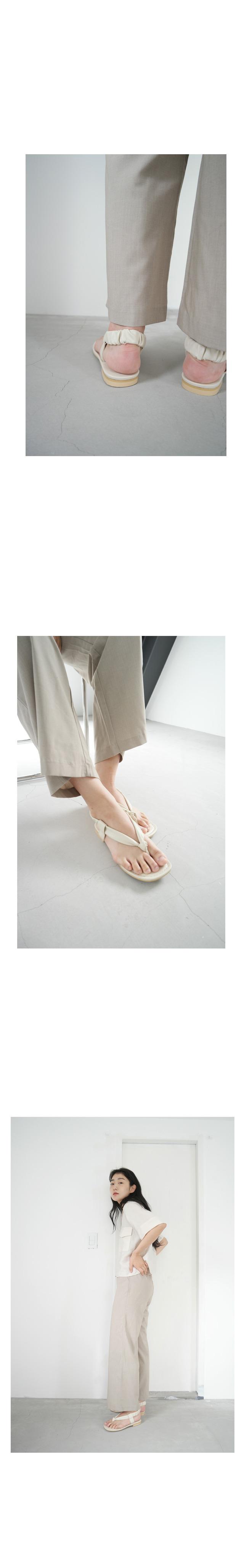 back banding sandals
