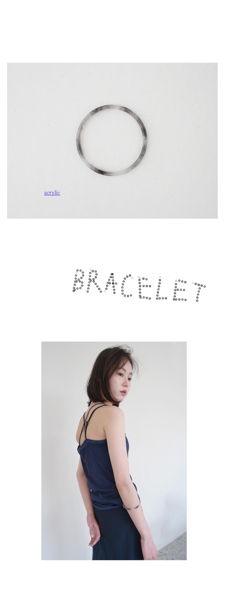 watery circle bracelet
