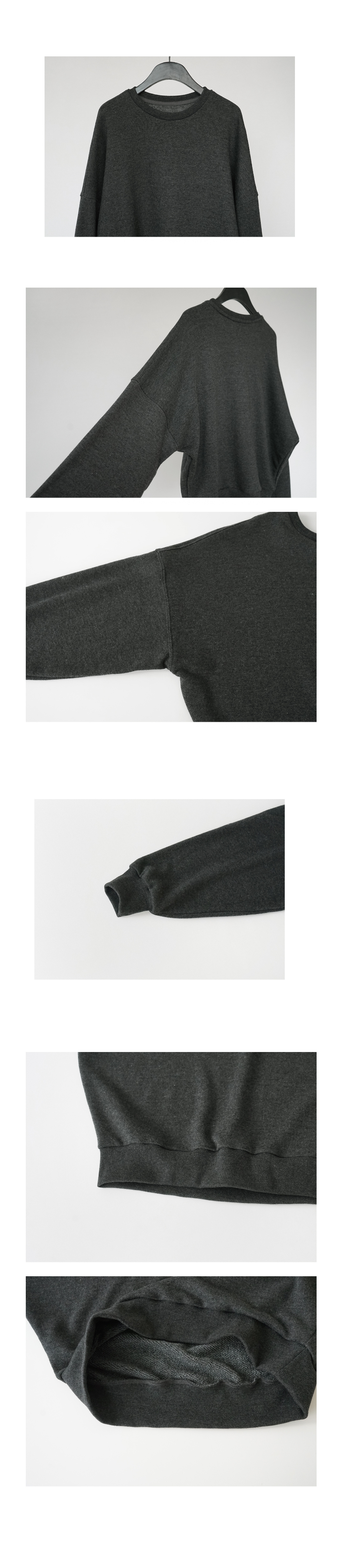 cozy mood regular sweatshirt (5colors)