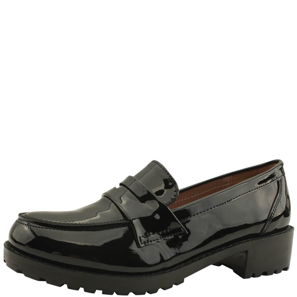 韓國空運 - Penny loafers low heel patent shoe pumps 樂福鞋