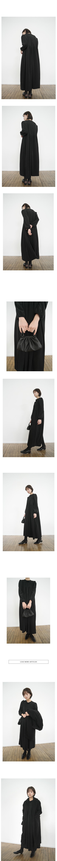 wearable boucle long coat