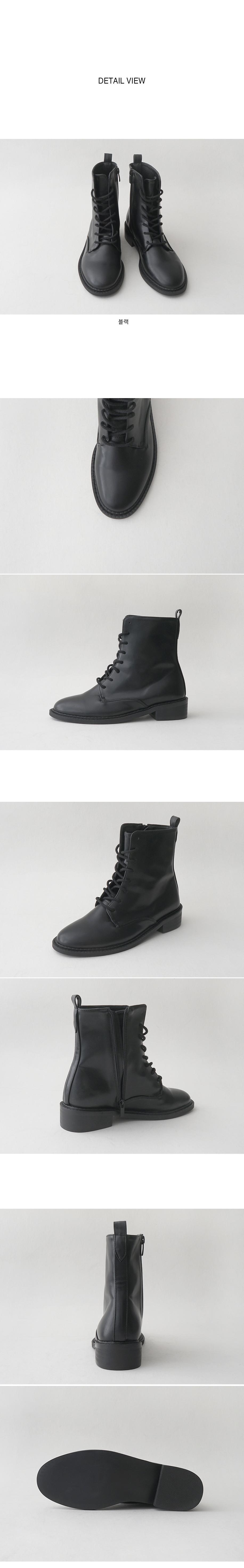 matt glossy walker boots