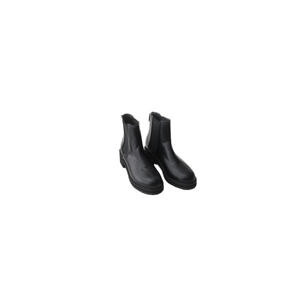 casual round toe ankle boots