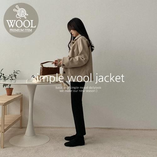 Caddy Wool Jacket