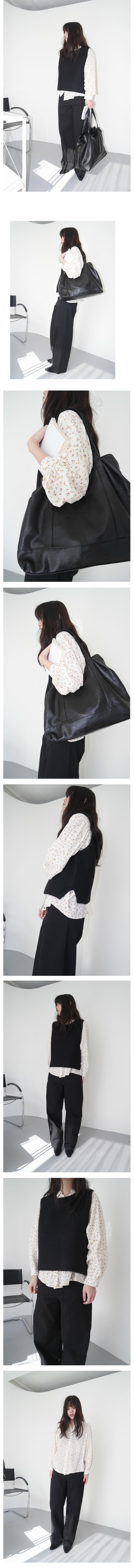 crack leather big bag