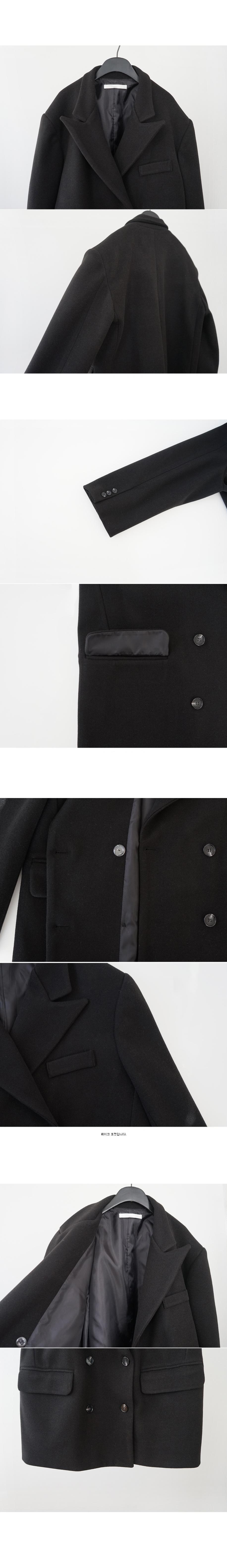 over shoulder half coat (3colors)