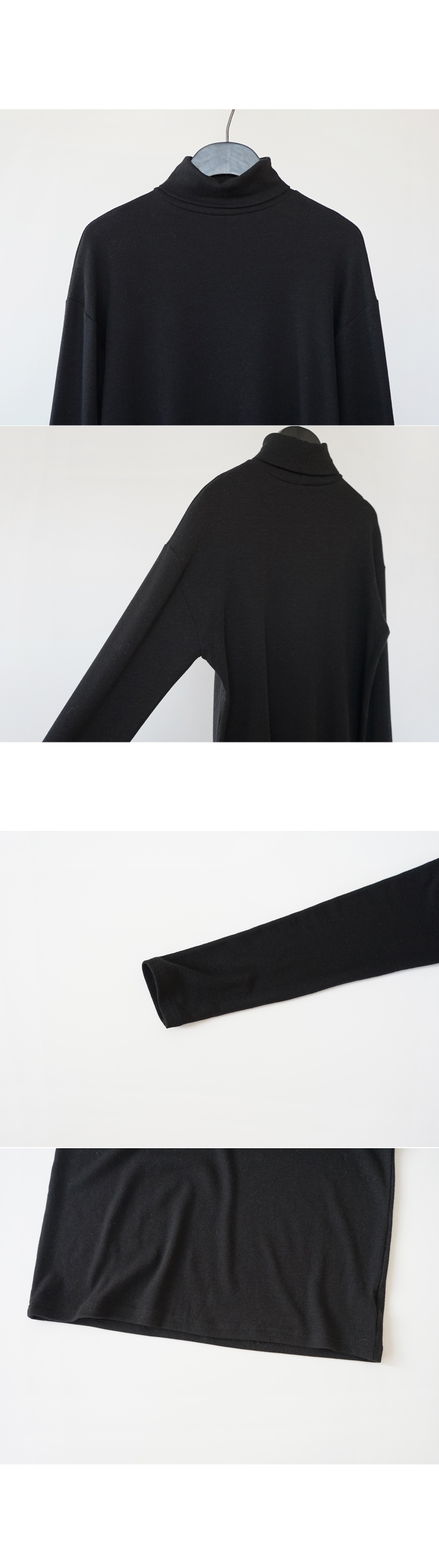 drop shoulder pola tee (7colors)