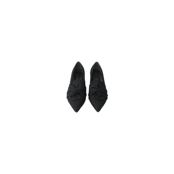 ribbon point middle shoes