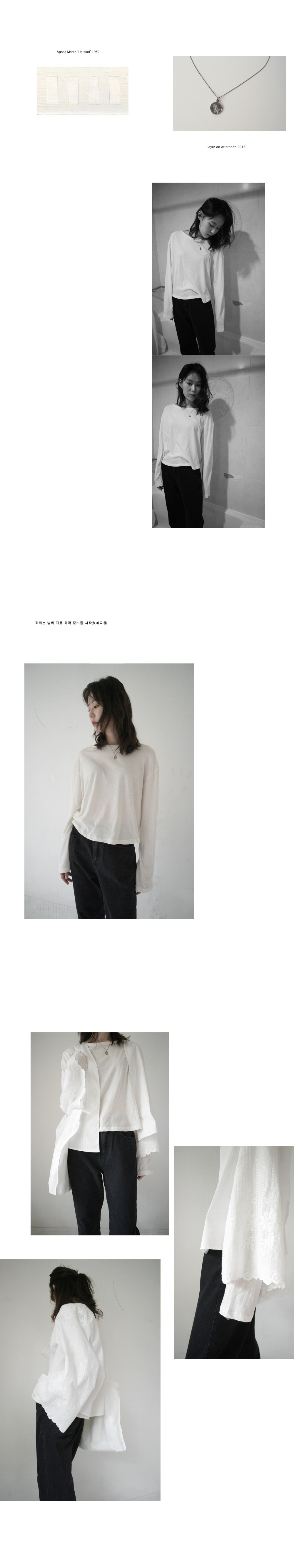 soft texture cropped top (4colors)