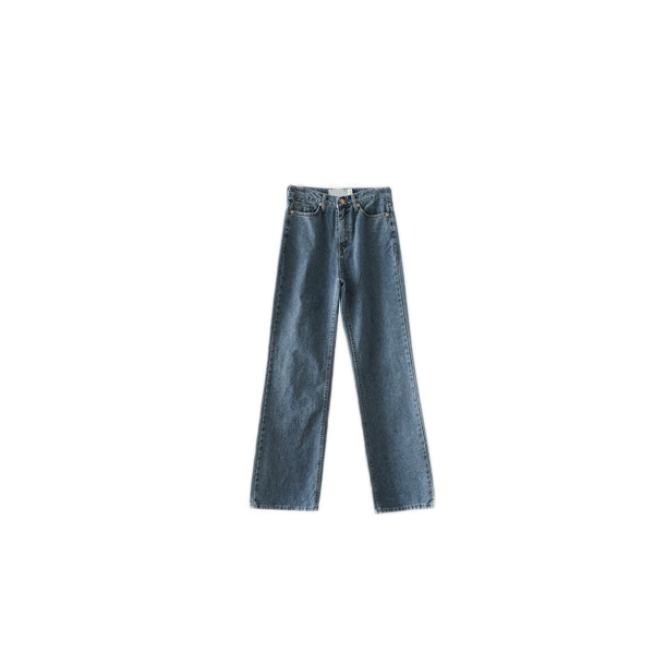 various straight denim pants