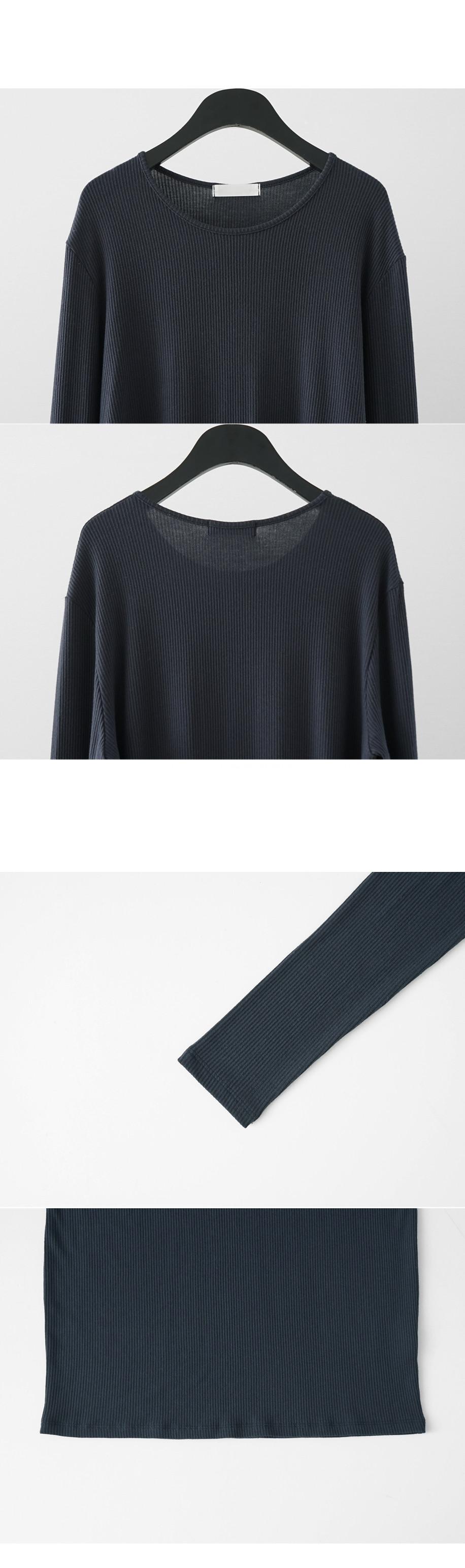 wide U-neck golgi top