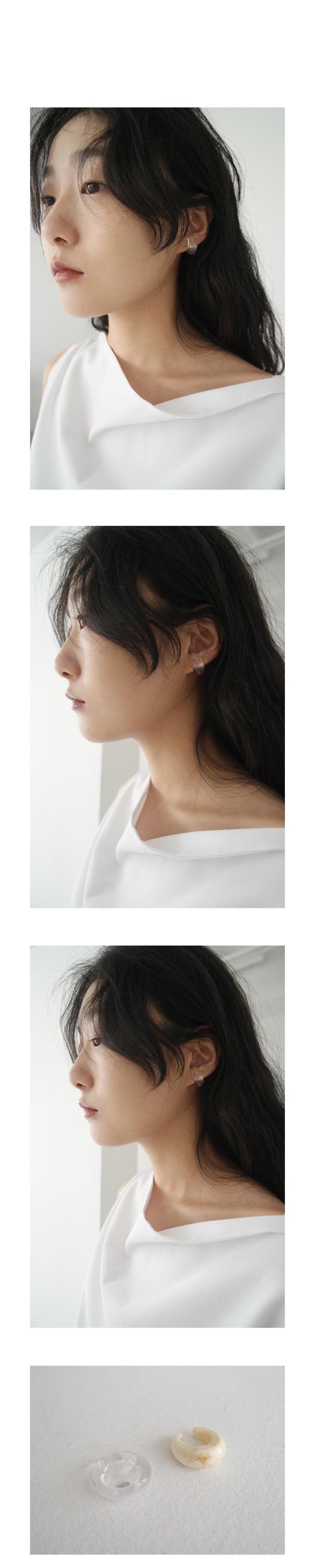 formica hole earcuff