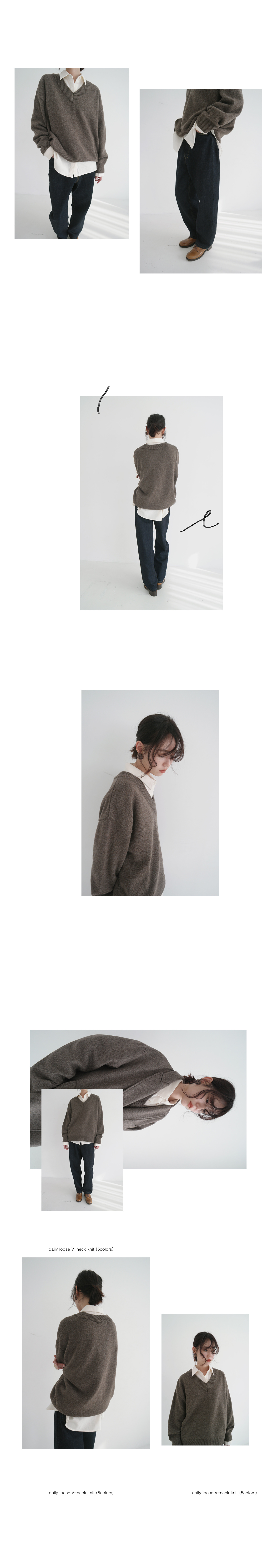 basic silhouette winter fluffy shirt (4colors)
