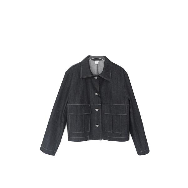 stitch standard denim jacket