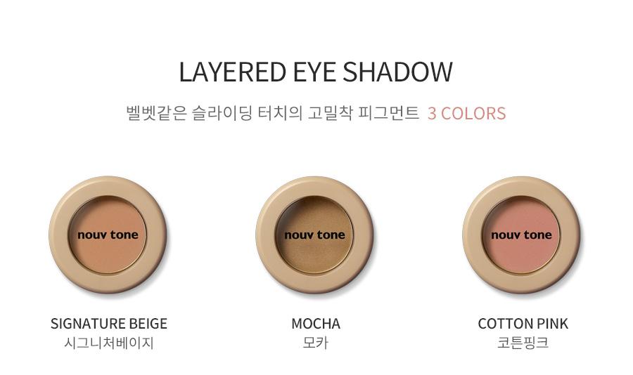 Layered Eye Shadow _ Mocha