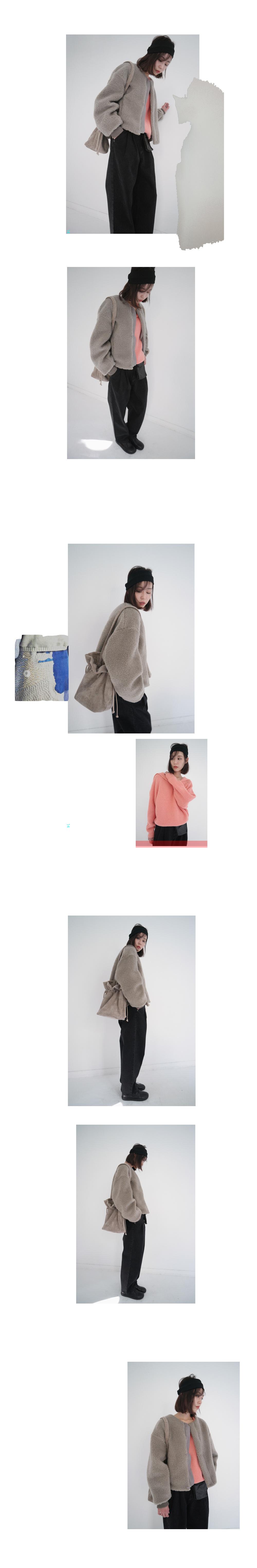 gorgeous collar knit (3colors)