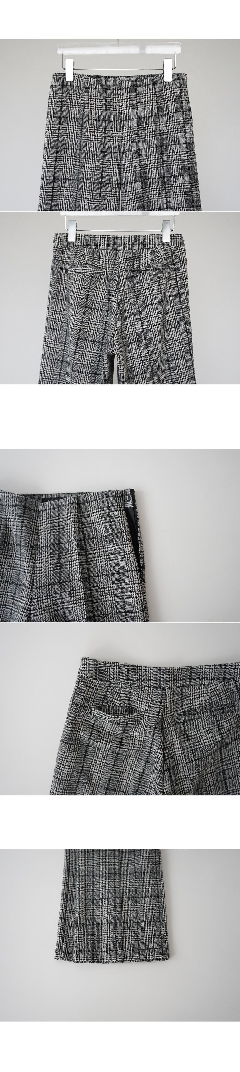 check crop pants (2colors)