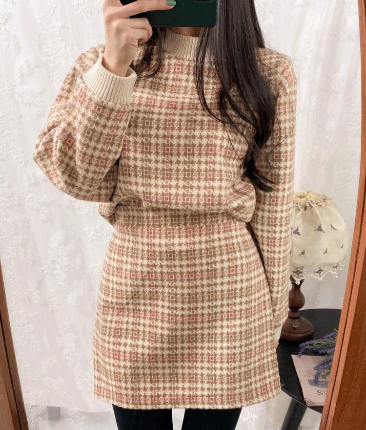 Tweed set skirt スカート