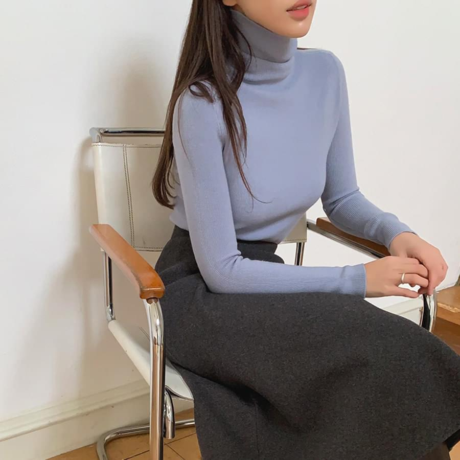 Pit Golgi Turtleneck Knit