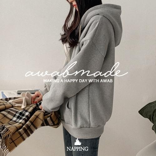 #AWABMADE:_Rouge Yang Raised Hood Zip-up