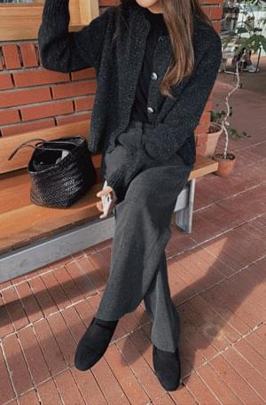Melange Nefsa wool cardigan